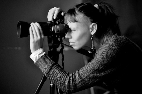 Diploma defense for photography students