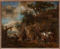 Painting by Philips Wouwerman discovered