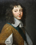 Portrait of a young man. (Philippe d'Orléans (?) (1640-1701), son of Louis XIII and Anne of Austria, brother of Louis XIV)